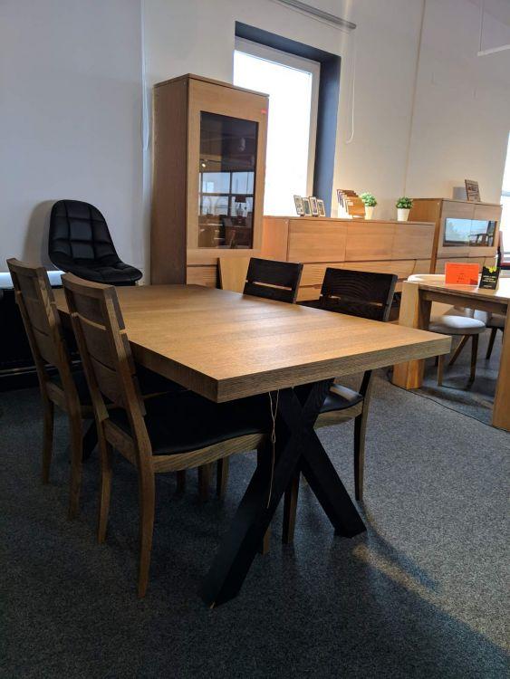 Zestaw Stół 4 Krzesła Brand